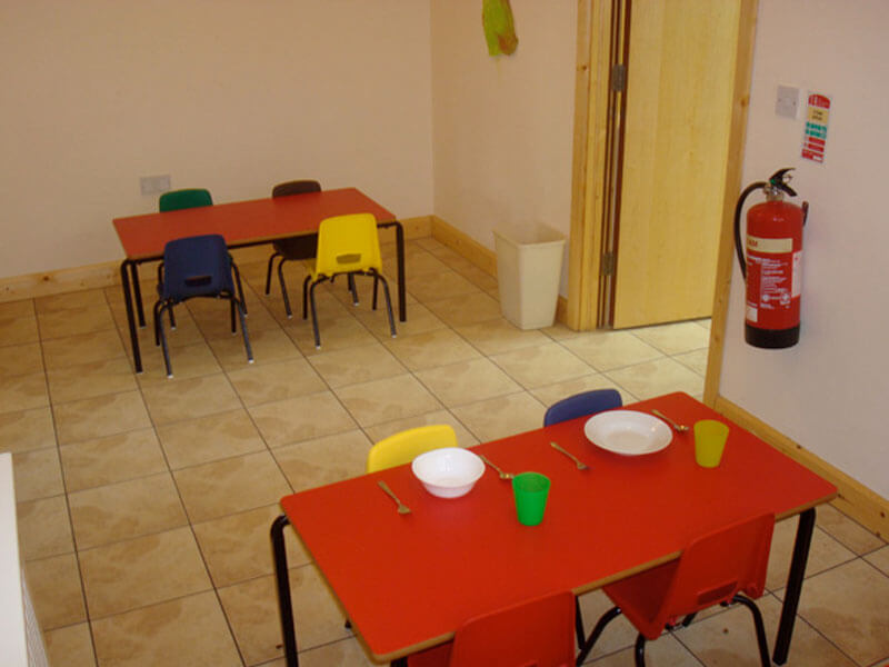 classroom in kids klubs childcare creche kells co.meath
