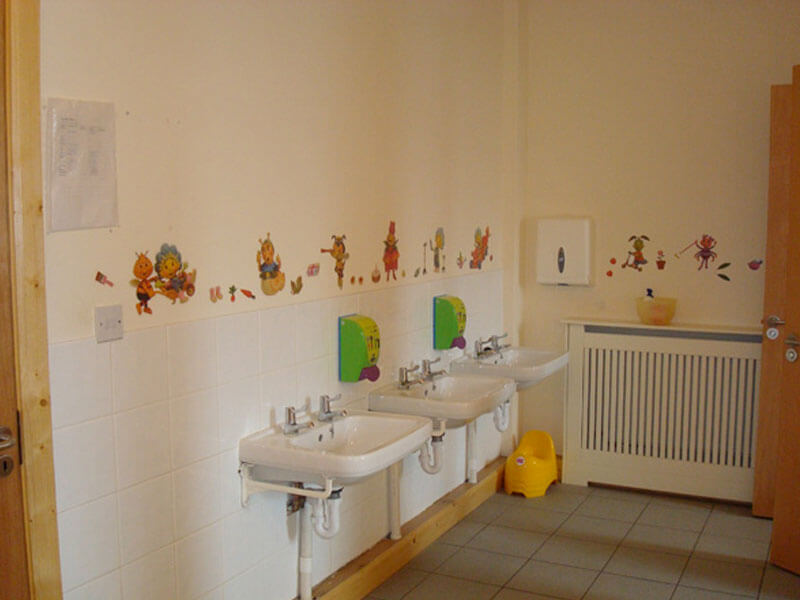 childrens toilets in kids klubs childcare creche kells co.meath